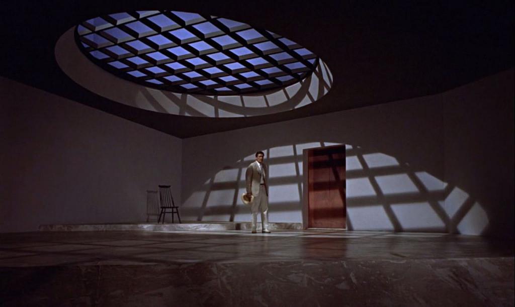 """""""Licenza di uccidere (Dr. No)"""", 1962, Sean Connery nel ruolo di James Bond, regia di Terence Young, scenografia di Ken Adam"""
