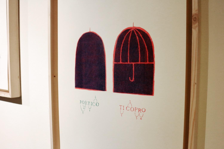 """dalla mostra """"Flanerì di carta"""", a cura di Elisa Talentino e Inuit, in collaborazione con BBB15 (foto: Frizzifrizzi)"""
