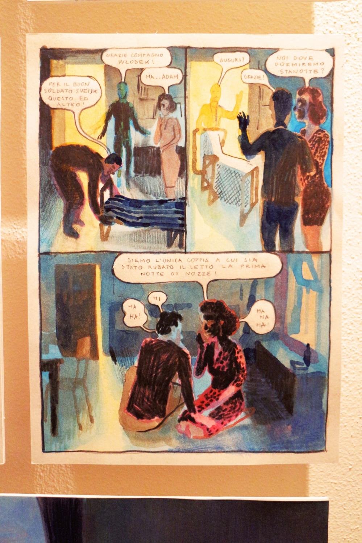 """dalla mostra """"Wisława Szymborska, Si dà il caso che io sia qui"""", di Alice Milani (foto: Frizzifrizzi)"""