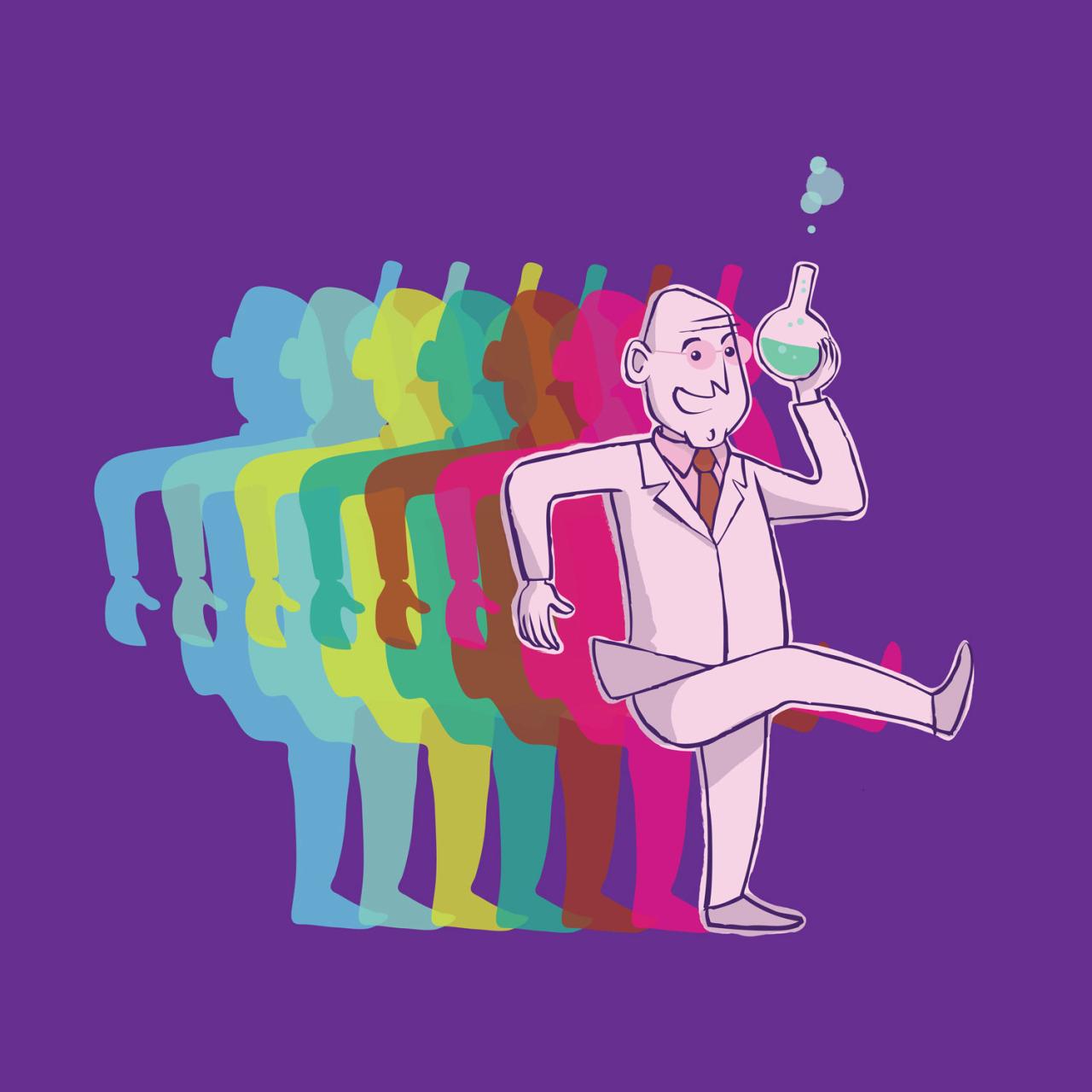 1938, il dott. Albert Hofmann sintetizza l'LSD (© Nicola Ferrarese)