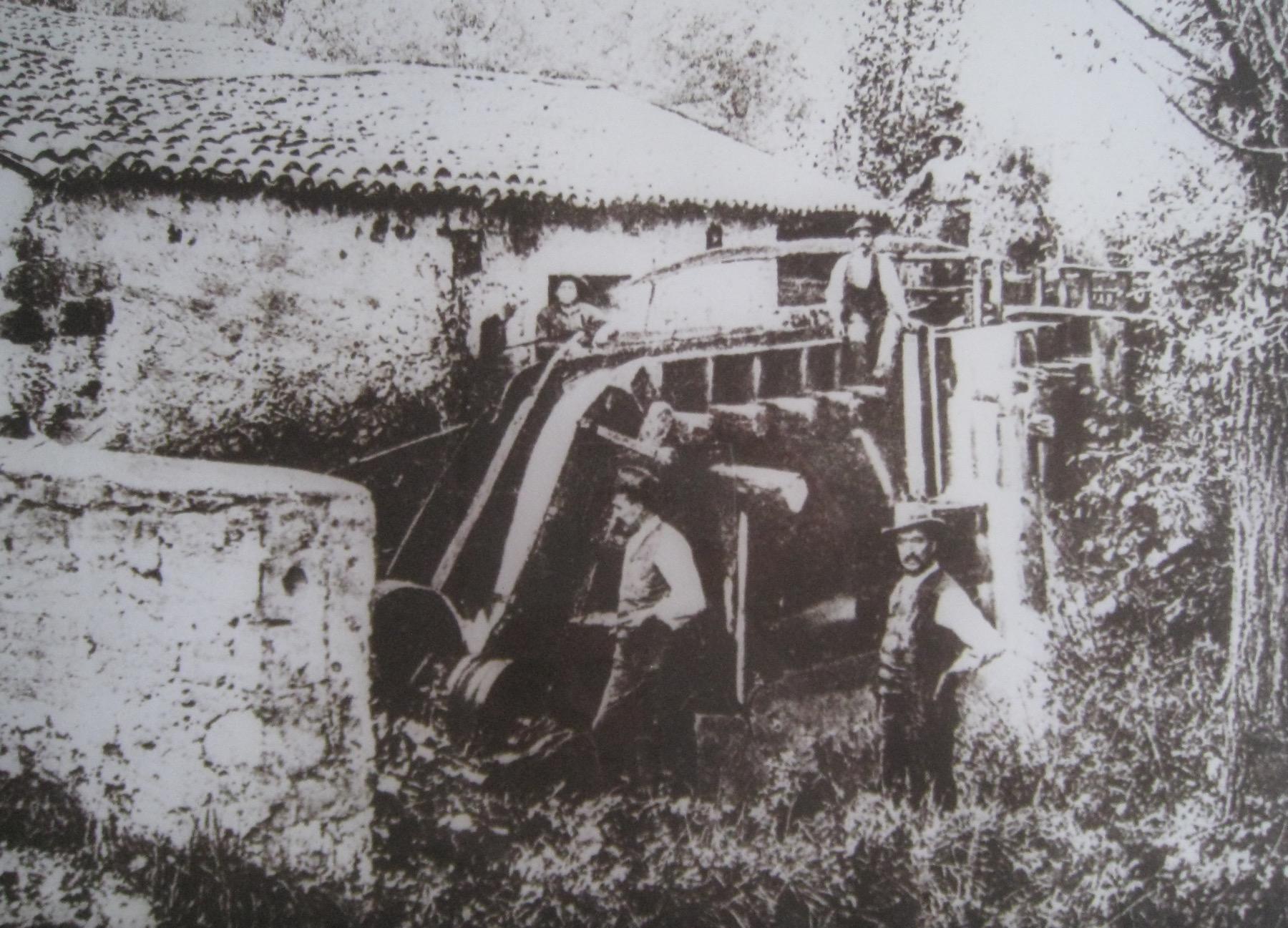 Il battiferro Due Ancore nel 1885