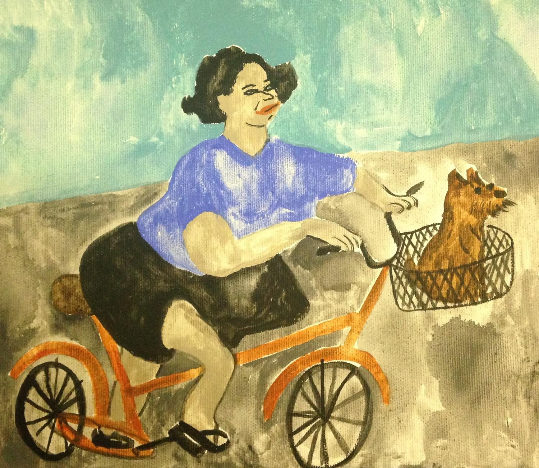 """""""La signora che dà il cibo ai mici ha comprato un cane"""", Miss Goffetown, 2015"""