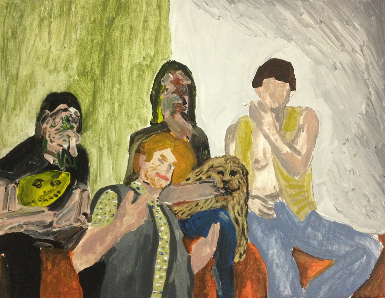 """""""A quattro mani"""", Dario Molinaro e Miss Goffetown, 2015"""
