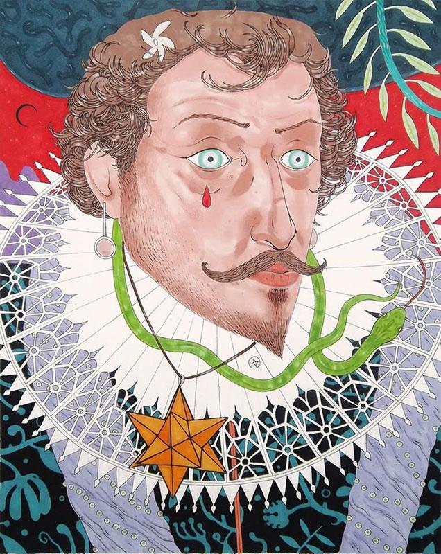 """Manfredi Ciminale, """"Walter Raleigh"""""""