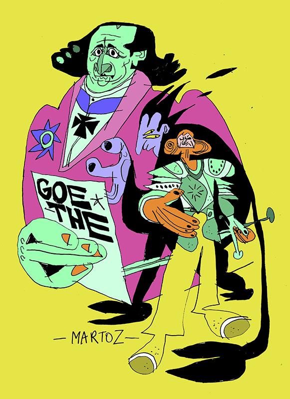 """Martoz, """"Goethe"""""""