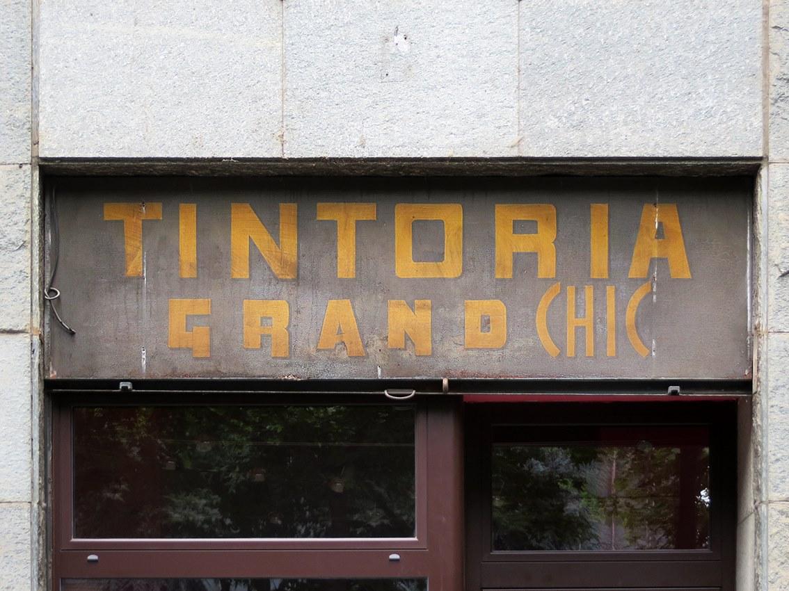 Torino, c.so Turati (fonte: Lettering da Torino)