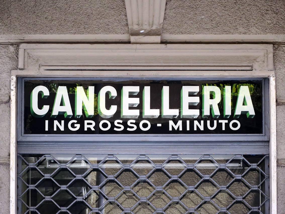 Torino, via Sant'Ottavio (fonte: Lettering da Torino)