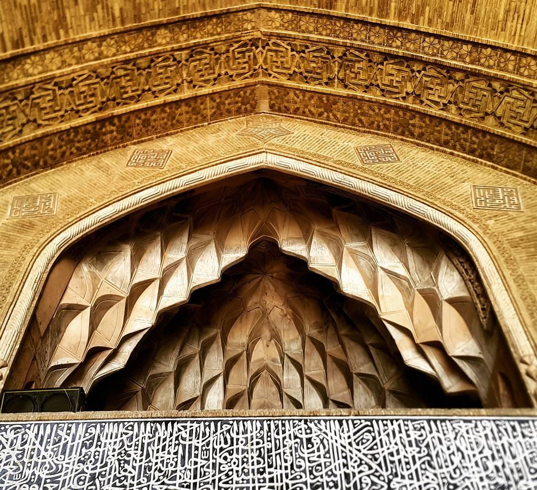 Moschea di Jameh, Esfahan, Iran (foto: @m1rasoulifard)