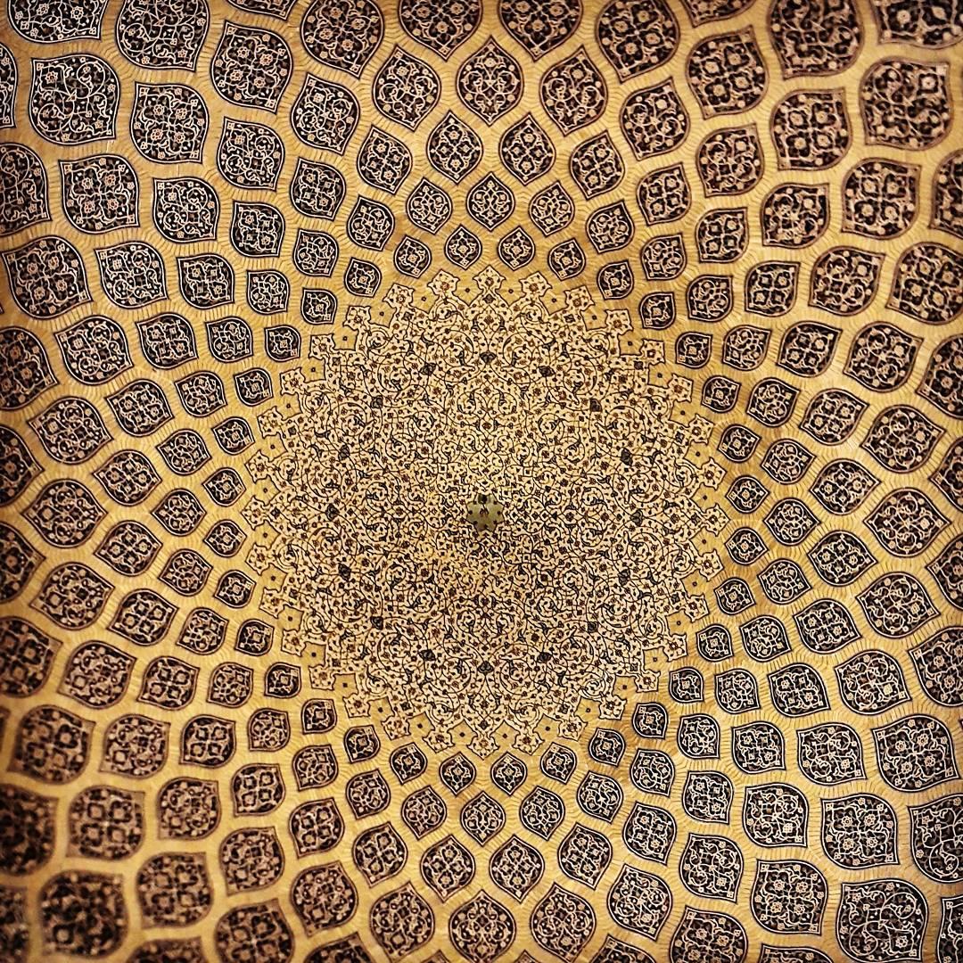 Moschea di Sheikh-lotfolah, Esfahan, Iran (foto: @m1rasoulifard)
