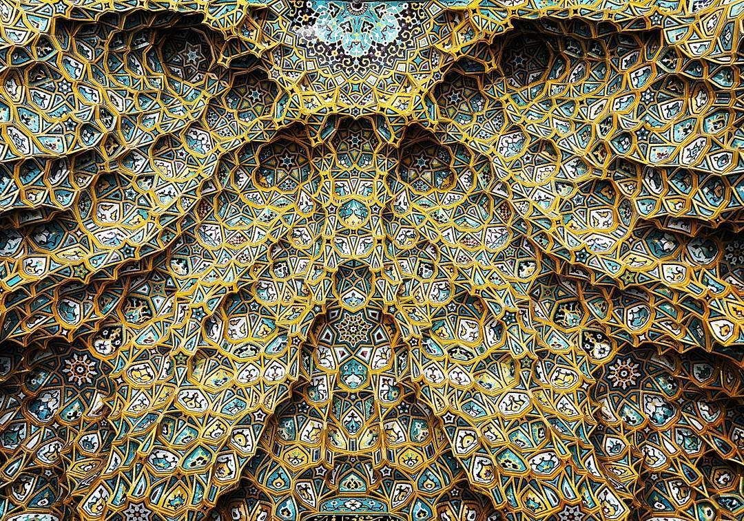Moschea Hazrate-masomeh, Qom, Iran (foto: @m1rasoulifard)