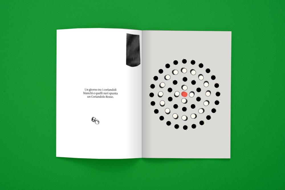 """""""La Storia del coriandolo rosso"""", scritta da Lara Caputo e illustrata da Ela Raciti"""