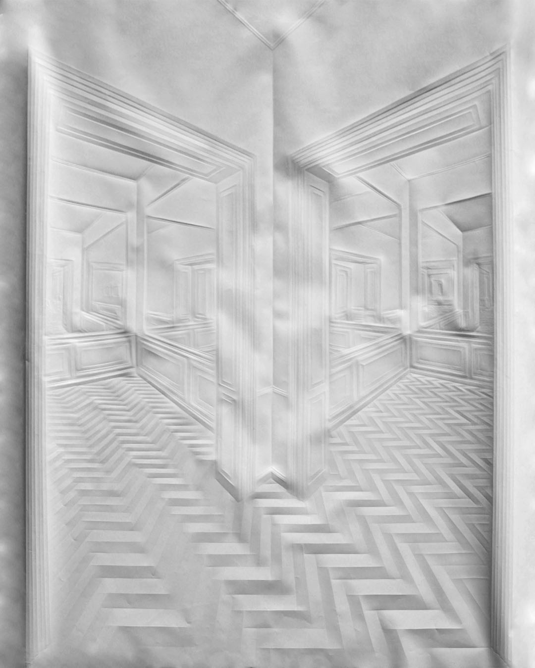 "dalla serie ""Mirror Spaces"", © Simon Schubert"