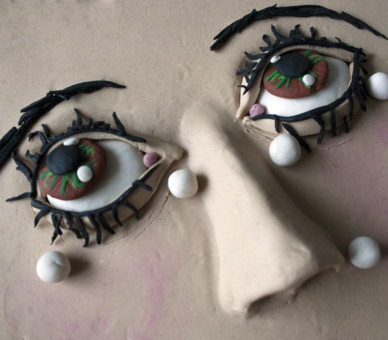 """""""Larme (Tears)"""", di Man Ray, 1930-32 (guarda l'originale)"""