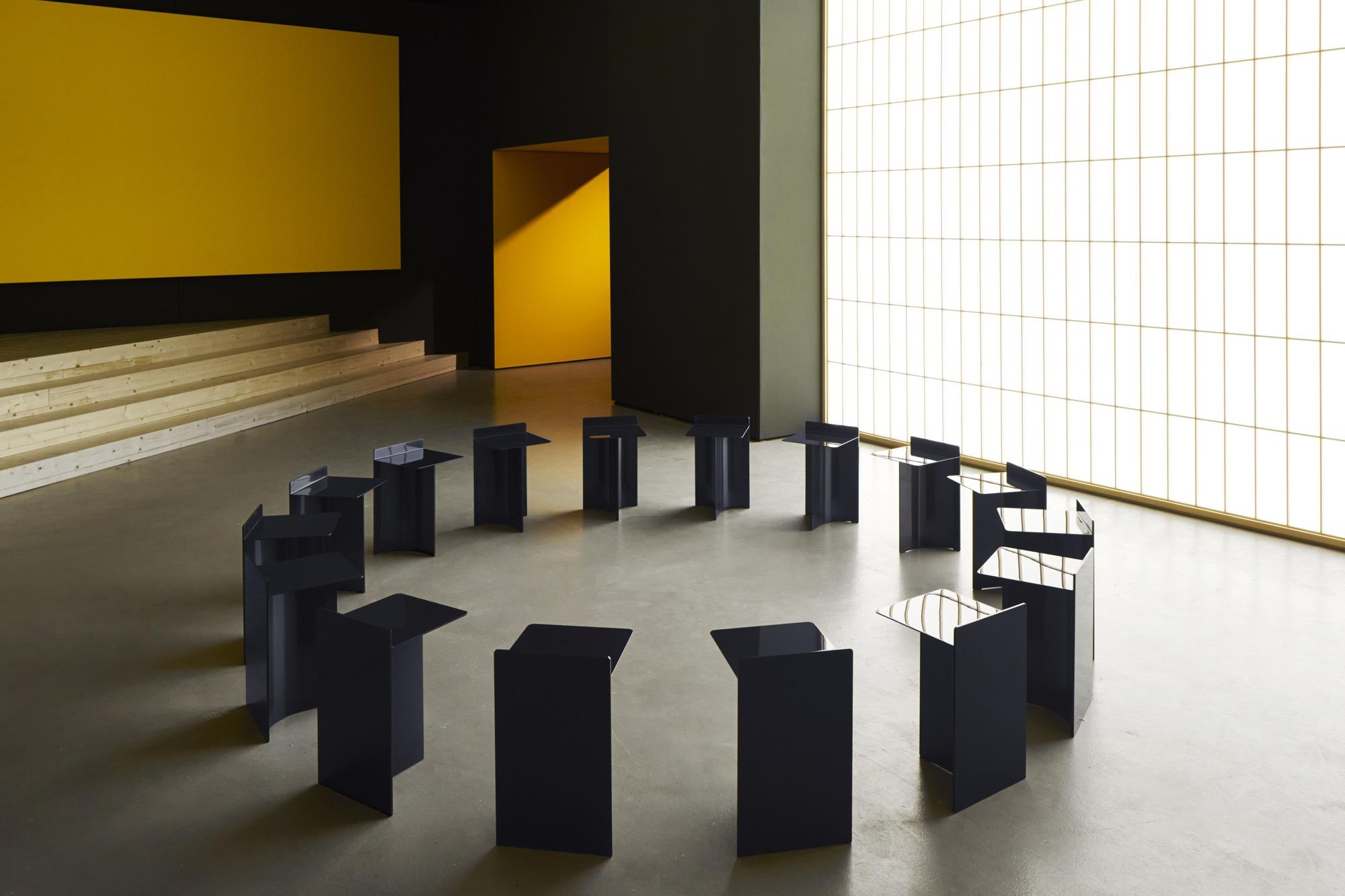 Il primo spazio dell'installazione di Formafantasma (foto: Lexus)