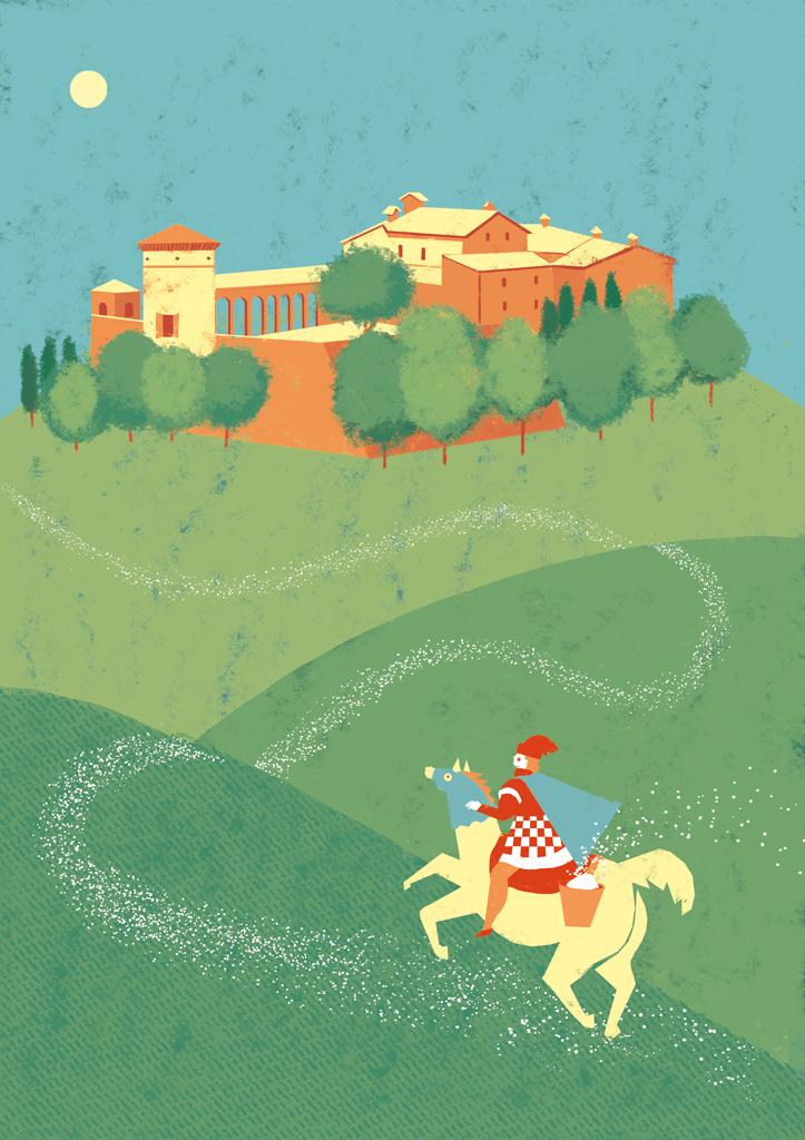 Maria Cecilia Azzali - Castello di Scipione