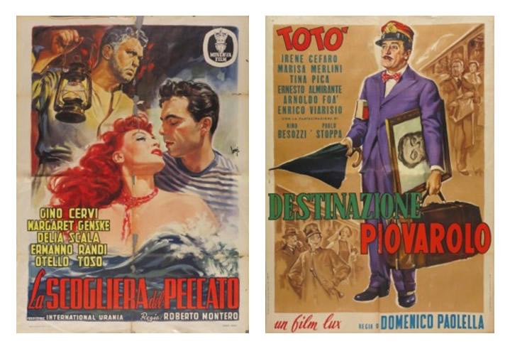 Immagine a sinistra: Longi – La scogliera del peccato   Immagine a destra: Longi – Destinazione Piovarolo