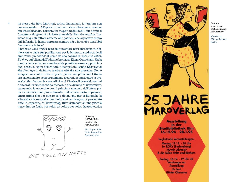 """Tolle Hefte, libro 2, """"Il carattere è solo ostinazione"""", Orecchio Acerbo Edizioni"""