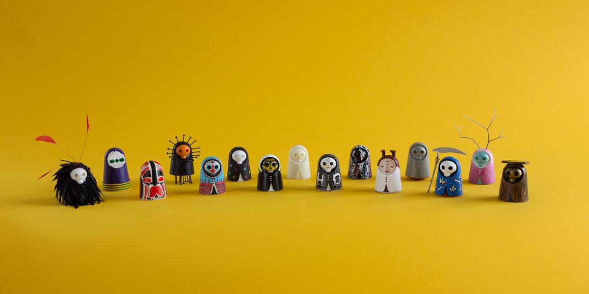 gli #Zero customizzati da artisti e designer (foto: Davide Farabegoli; courtesy: NVDRS)