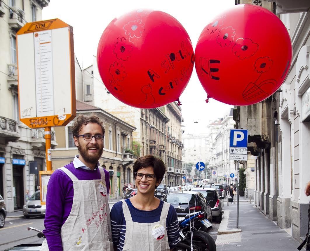 Francesco Mapelli e Ilaria Rodella durante la prima edizione del festival