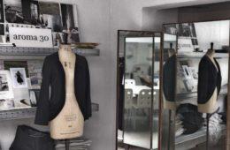 L'atelier di Aroma 30, a Roma, in zona Pigneto (foto: Chiara Kurtovic, courtesy: Aroma30)