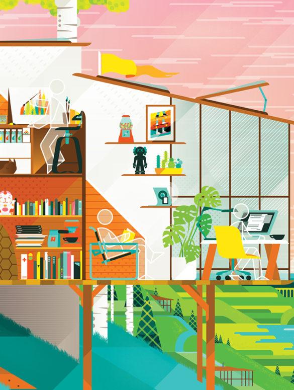 bentheillustrator isthisyourdreamworkspace 1