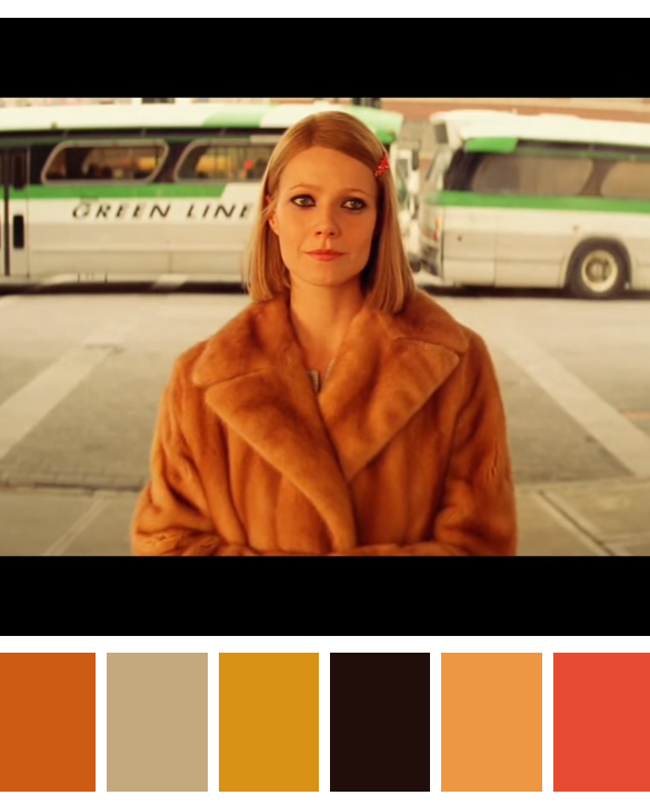 cinema palettes the royal tenenbaums 2001