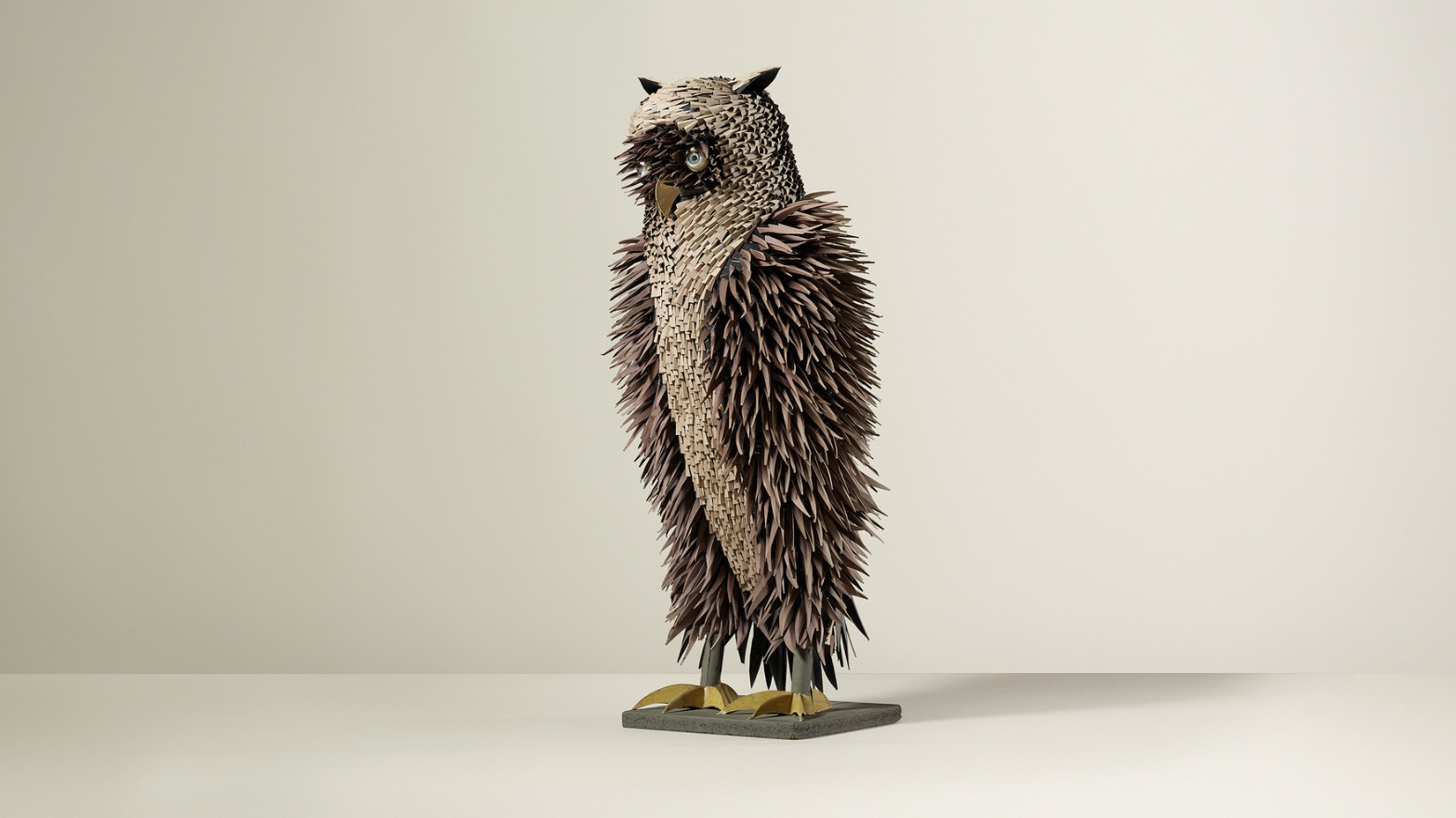 "Irving Harper, ""Untitled (Owl)"""