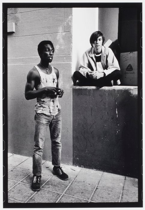 """Anthony Friedkin, """"Young Hustlers, Selma Avenue, Hollywood"""", 1971"""