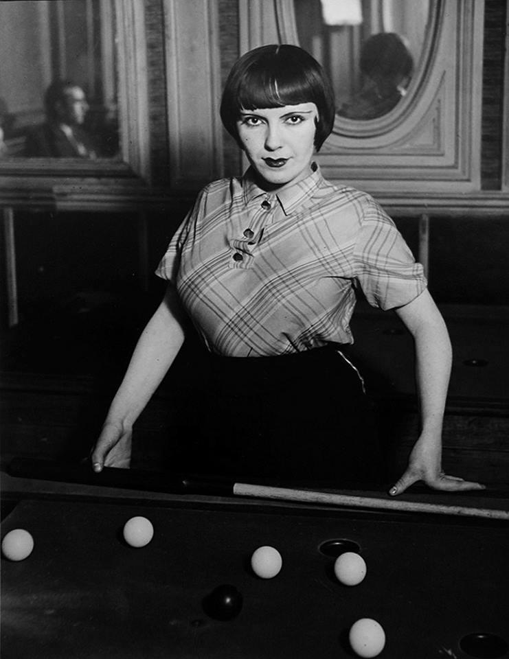 """Brassaï, """"La fille de Joie au Billard Russe"""", 1932"""