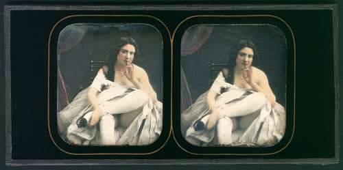fotografo sconosciuto, dagherrotipo stereografico