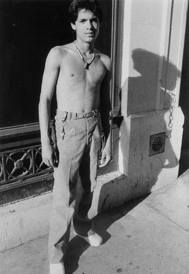 """Larry Clark, """"Untitled (Hustler and Long Shadow)"""", 1980/81"""