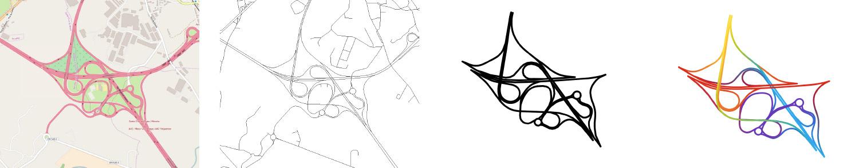 I vari passaggi per la realizzazione delle grafiche