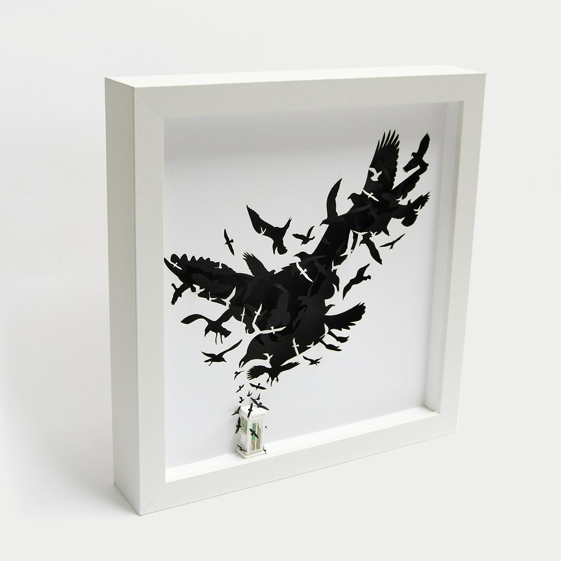 """Gli uccelli"", di Alfred Hitchcock, 1963"