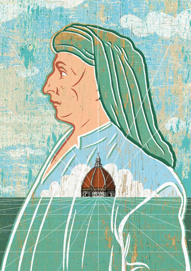 """Alberto Ruggieri, """"Filippo Brunelleschi"""""""