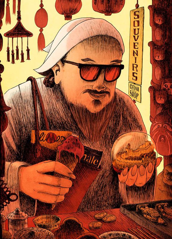 "Dimitri Fogolin, ""Gengis Khan"""