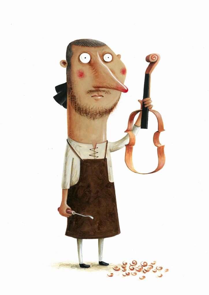 """João Vaz de Carvahlo, """"Antonio Stradivari"""""""