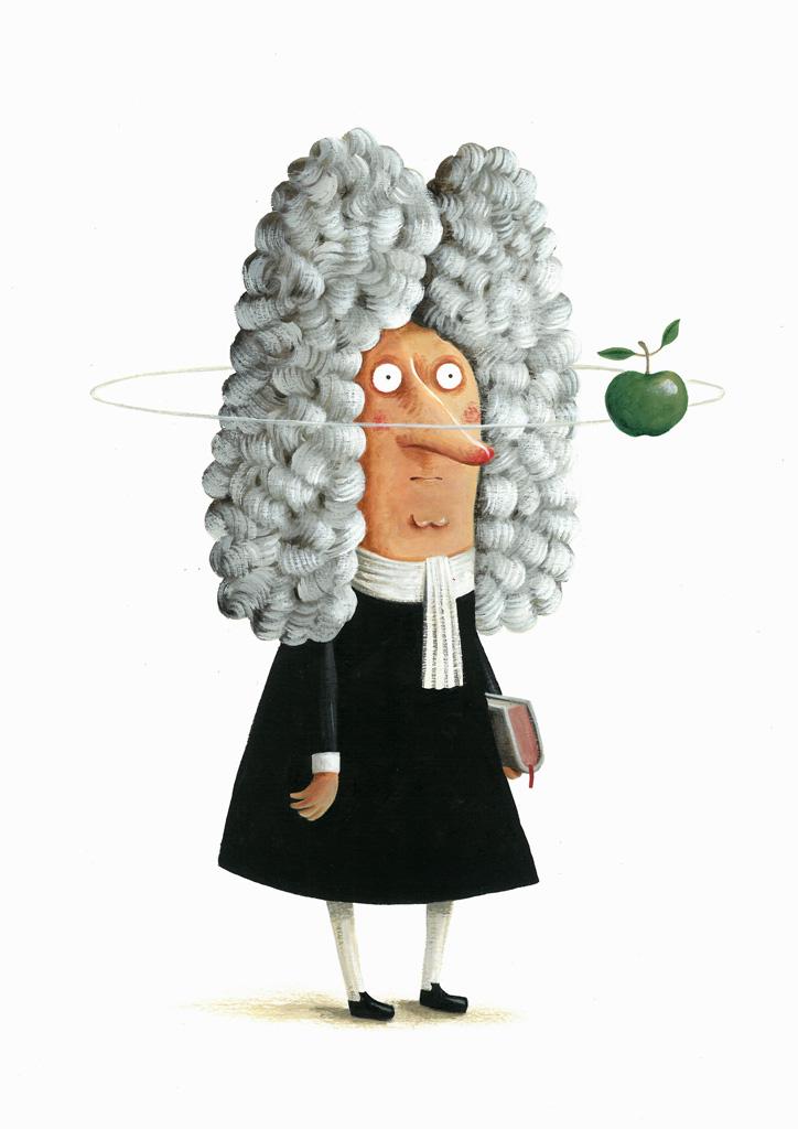 "João Vaz de Carvahlo, ""Isaac Newton"""