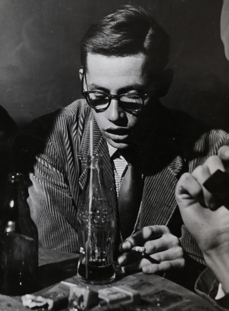 Un giovane Dieter Rams negli anni '50