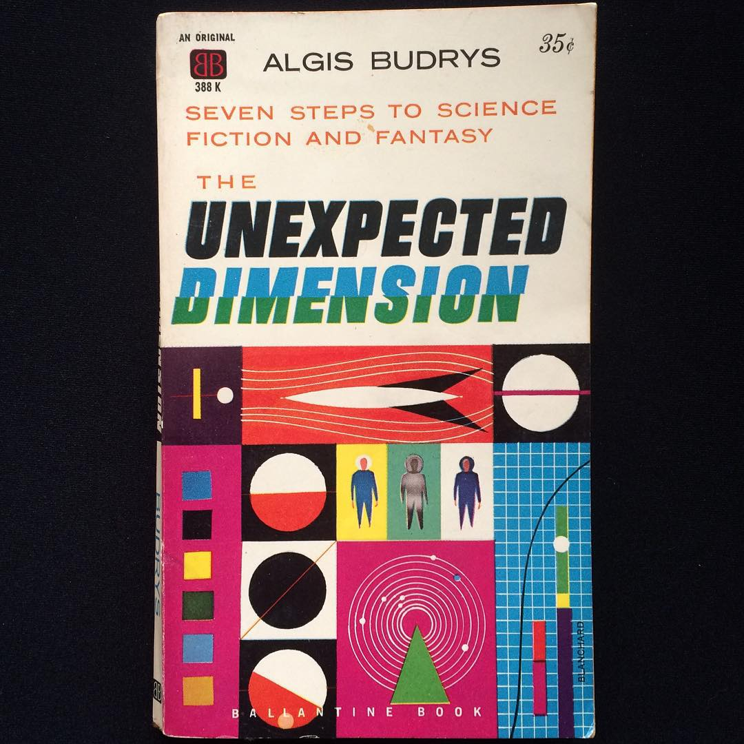"""""""The Unexpected Dimension"""", Algis Budrys, 1960 Cover art by Blanchard, 1960"""