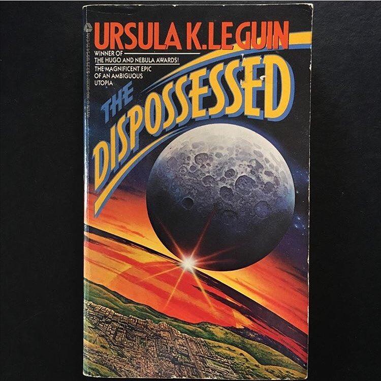 """""""The Dispossessed"""", Ursula K. LeGuin, 1974 Cover art uncredited, 1987"""