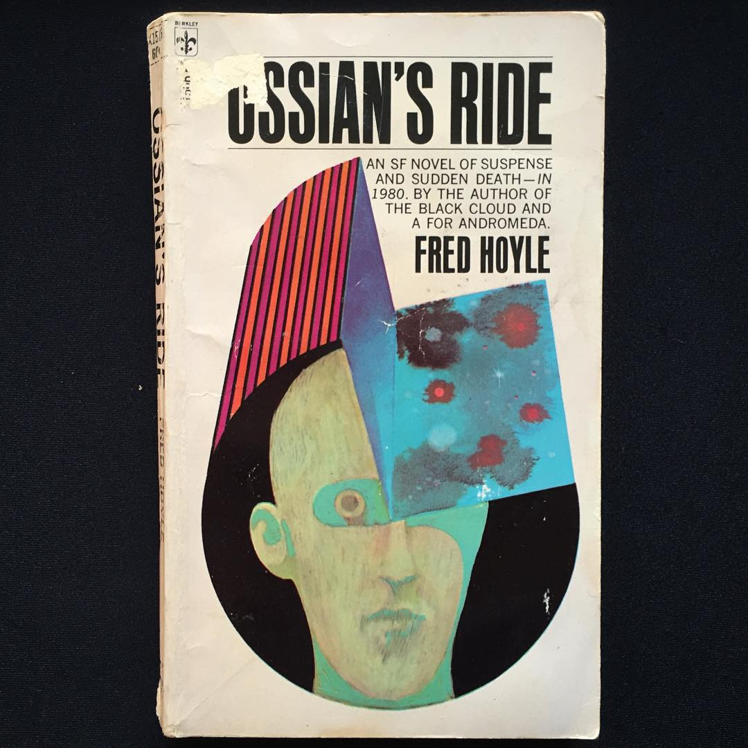 """""""Ossian's Ride"""" by Fred Hoyle, 1959 Cover art uncredited, 1968"""