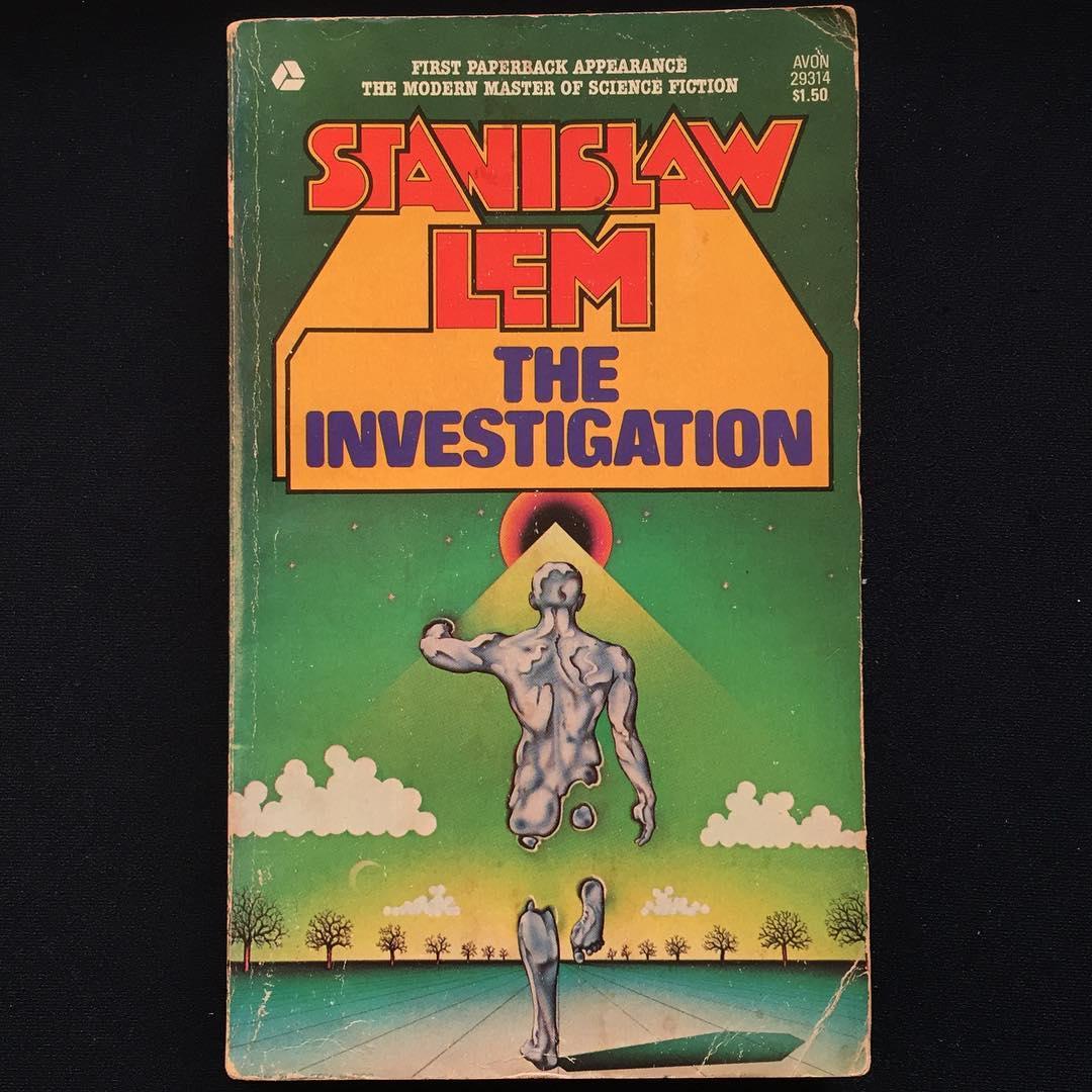 """The Investigation"", Stanislaw Lem, 1959 Cover art by Stanislaw Fernandes, 1976"