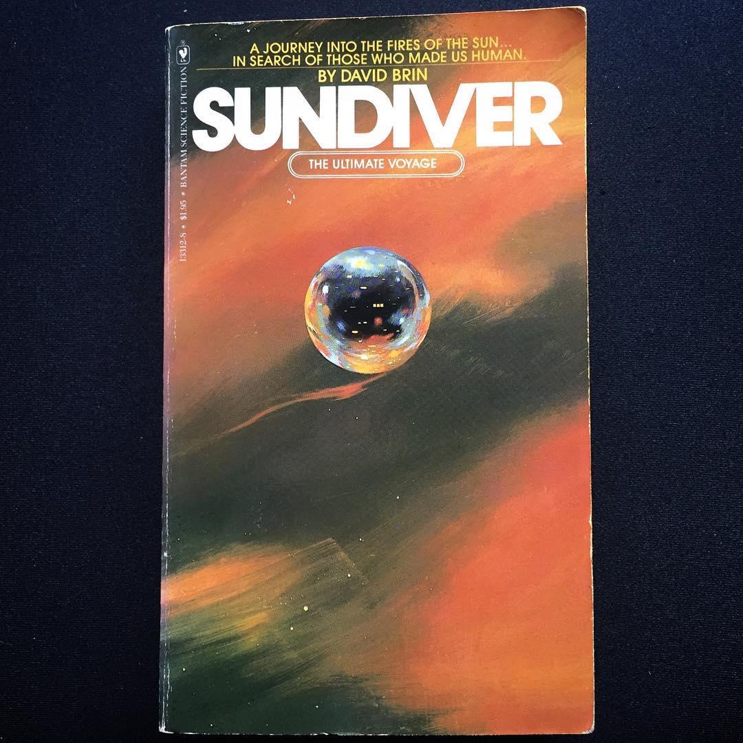 """Sundiver"", David Brin, 1980 Cover art uncredited, 1980"