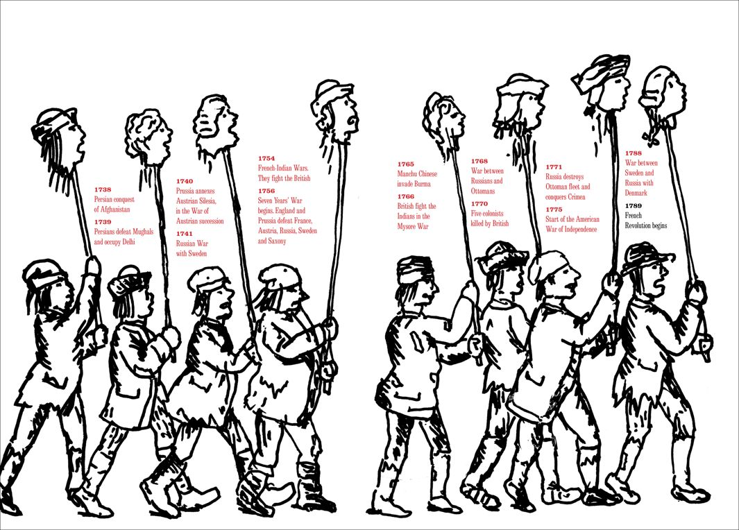 "Seymour Chwast, ""At war with war"", la Rivoluzione Francese"