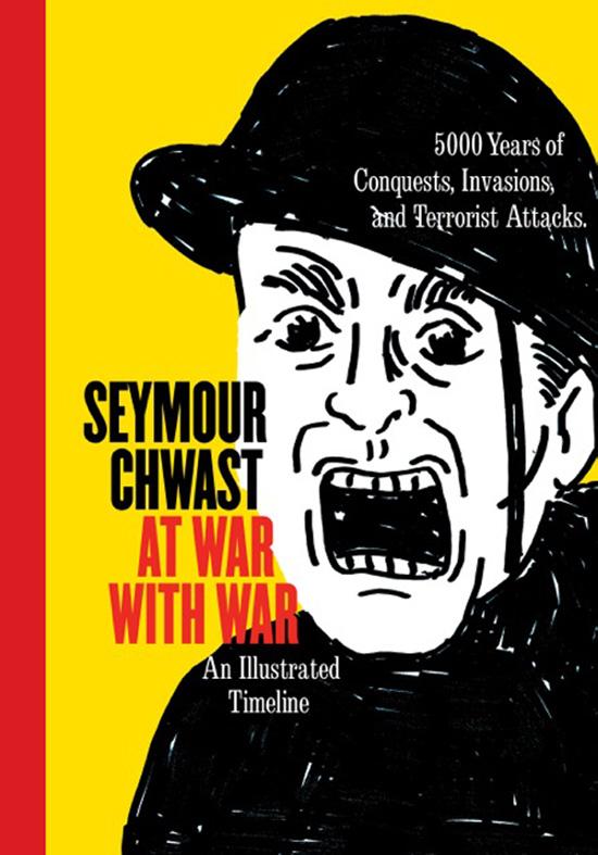 """Seymour Chwast, """"At war with war"""", copertina"""