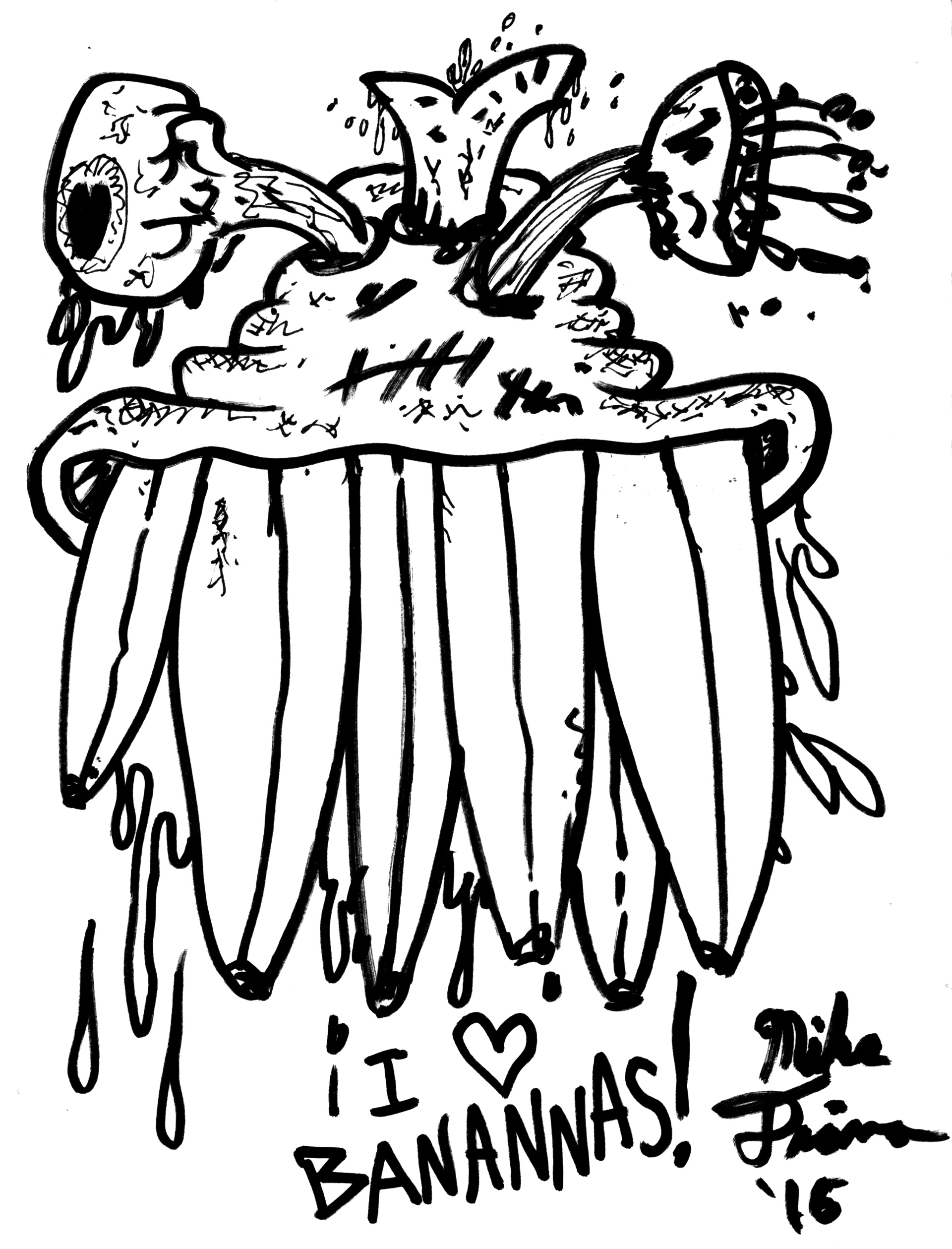 illustrazione di Mike Diana