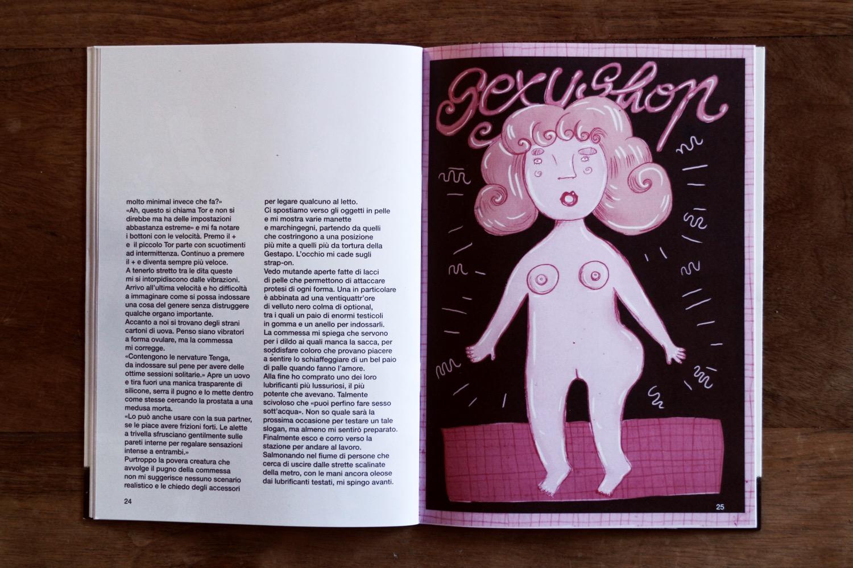 Racconto di DZ e illustrazione di Silvia Scarabello