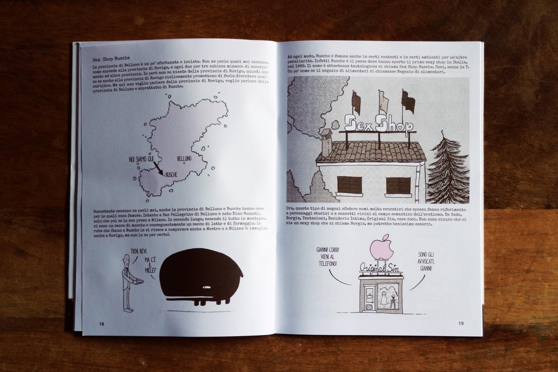 Fumetto di Tobia Maschio
