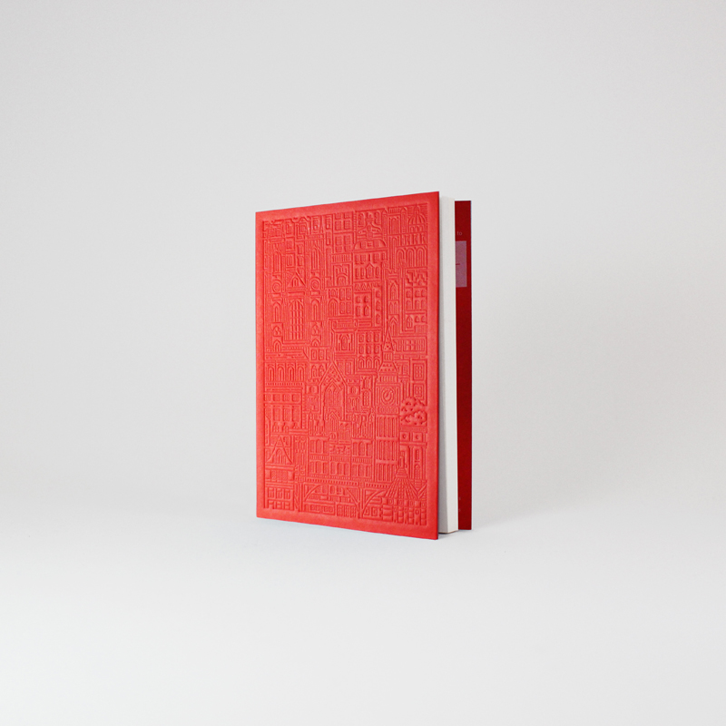 Westminster-Debossed-Notebook-Angle