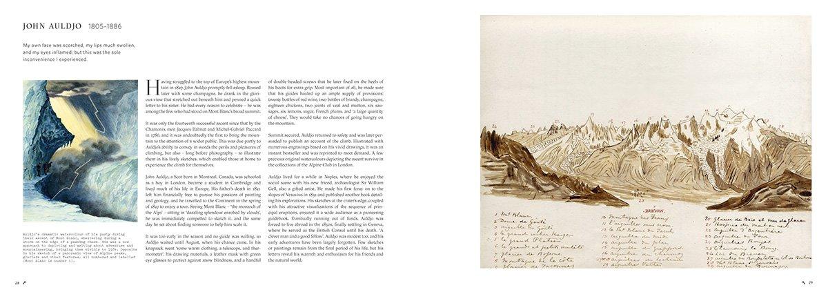 """Explorers' Sketchbooks: The Art of Discovery & Adventure"", di Huw Lewis-Jones e Kari Herbert, Thames & Hudson, settembre 2016"